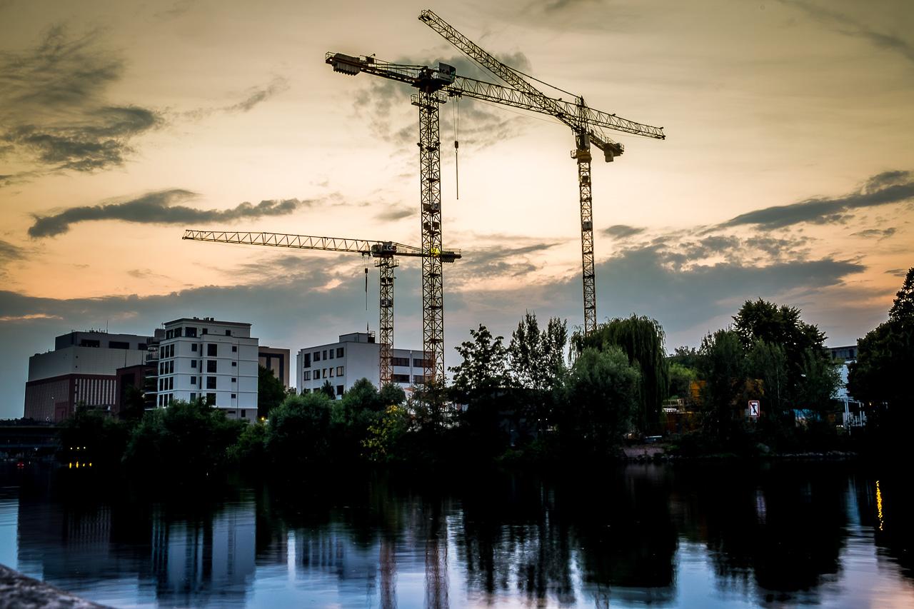 Sonnenuntergang Spreeboard Berlin Charlottenburg