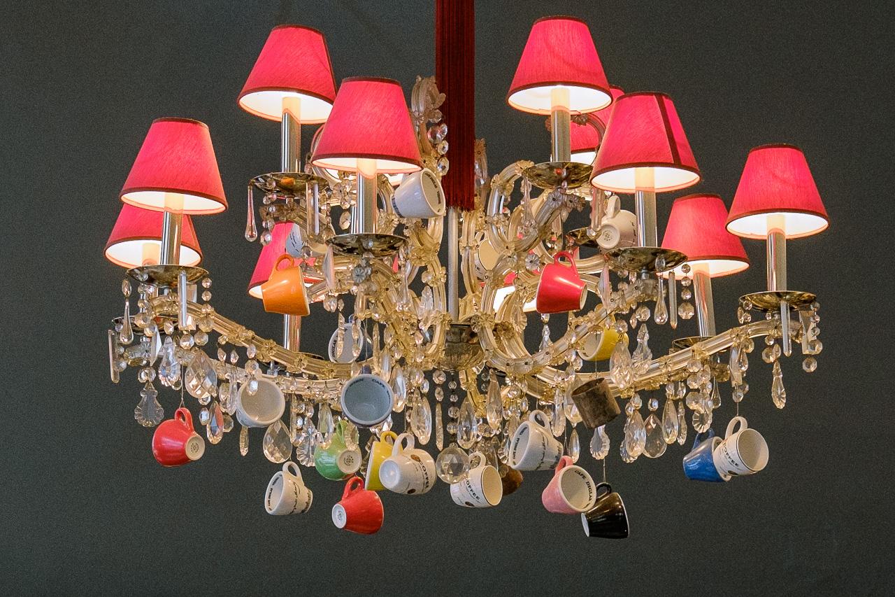 chandelier café diglas vienna