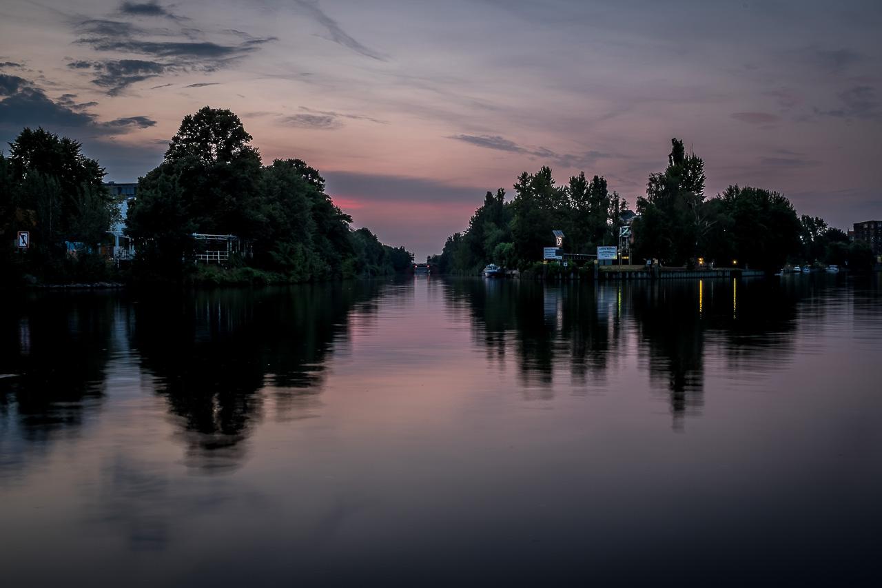 Spreeboard-Berlin-Charlottenburg-Sonnenuntergang