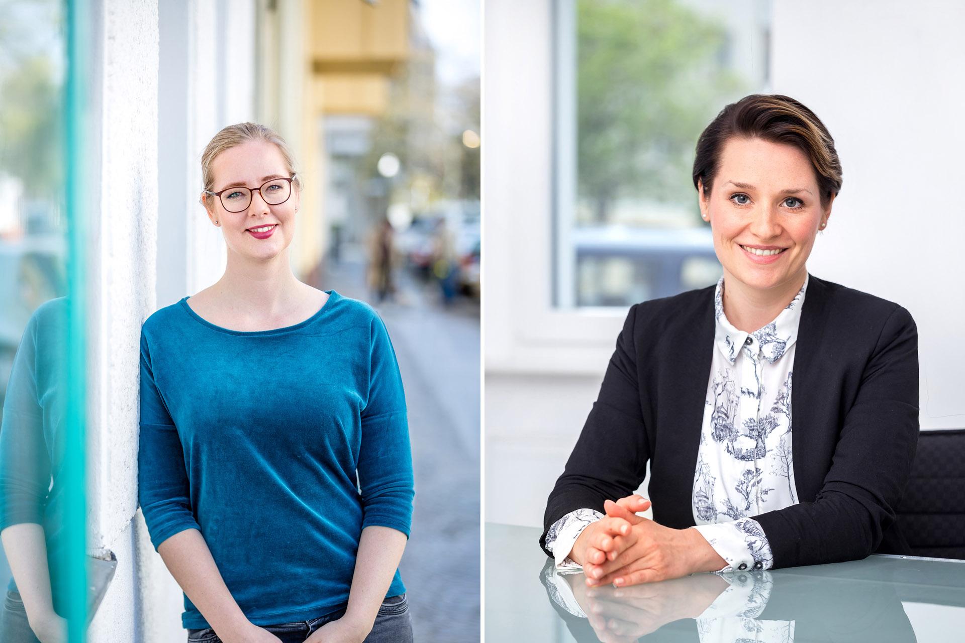 Businessportraitsfotos -Businessfrauen